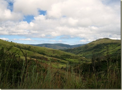 Road East from Pilgrims Rest Mpumalanga South Africa