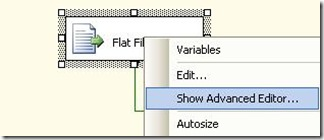 Derived FileName Show Advanced Editor