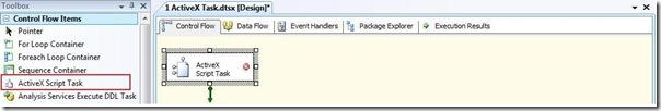 1 SSIS ActiveX Script Task