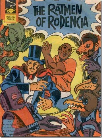 Indrajal Comics # 200 - Ratmen of Rodencia