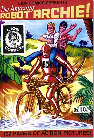 Lion Comics (English Edition) # 2 - The Amazing Robot Archie