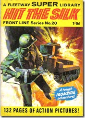 Fleetway Super Library - Frontline Series No.20 - Top Sergeant Ironside - Hit the Silk