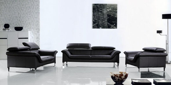 Leather-Sofas - Discount Furniture - Furnitureland South
