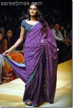 Soumitra-Mondal-Khadi-Saree-LFW-2010