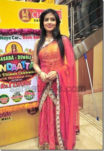 Nikesha Patel -Designer-Half-Sari