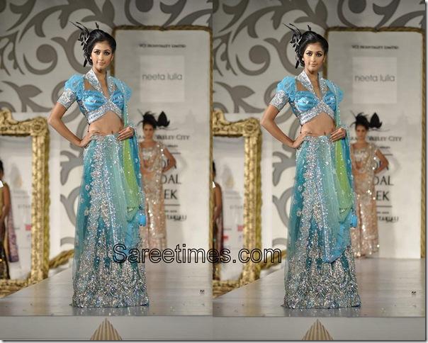 Neeta Lulla_Blue_Designer_Saree