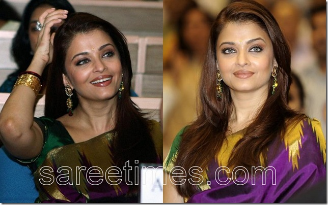 Aishwarya-Rai-Traditional-Silk-Sari-National-Awards