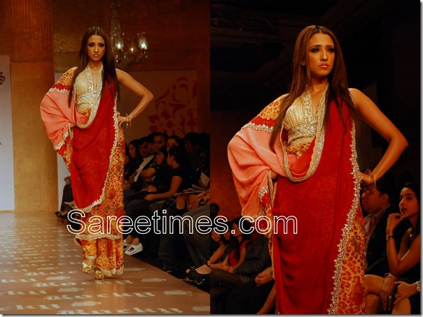 Rocky_S_Red_Designer_Saree