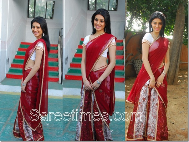 Anchal_Red_Half_Saree