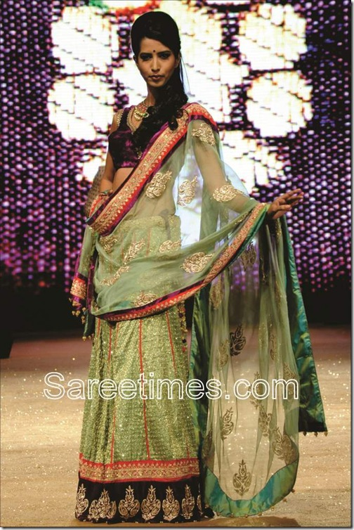 Green_Designer_Saree