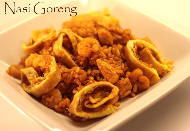 nasi goreng thai food