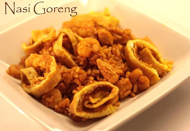nasi goreng thai food