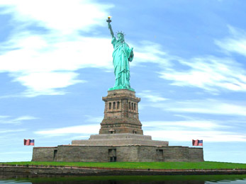 Statue of Liberty animated wallpaper