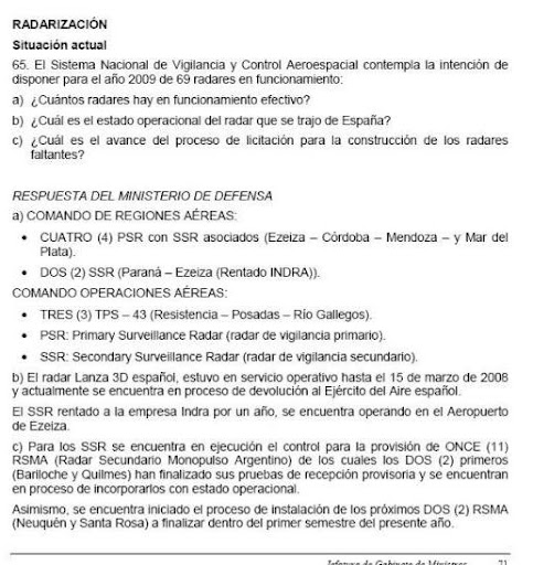 Sierra Grande solicita informes a Nación por pista de aterrizaje. Rad1