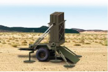 Iron Dome, Sistema Antiaéreo de Israel. Iron_dome_launcher