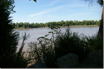 View of the Missouri River from the trail