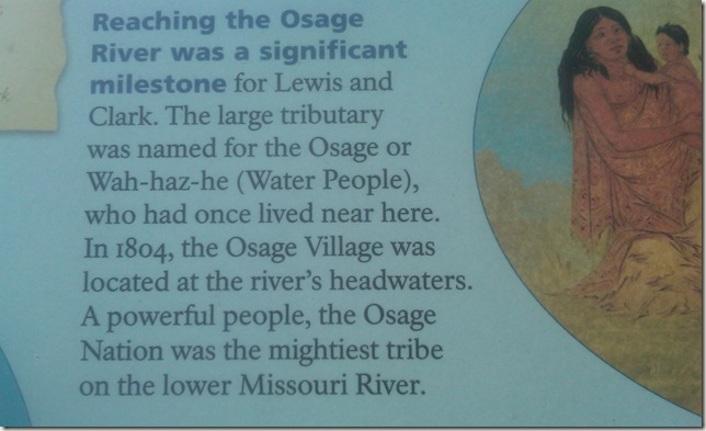 Osage Nation mightiest tribe on lower Missouri River