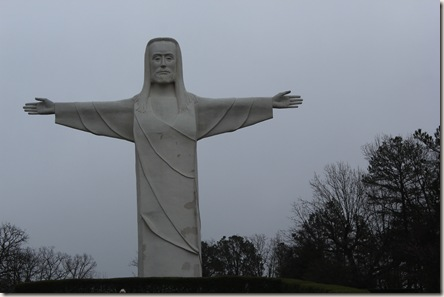 Christ of the Ozarks statue