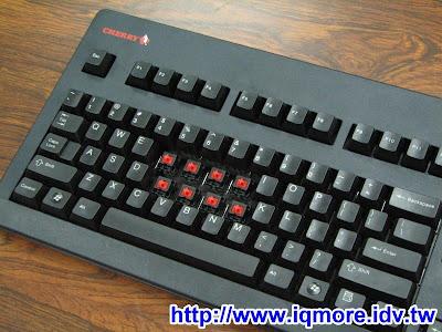 Cherry G80-3494 LYCUS-2 黑色赤軸(紅軸)機械式鍵盤評測