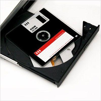 [國外資訊] 偽裝成軟牒片的CD