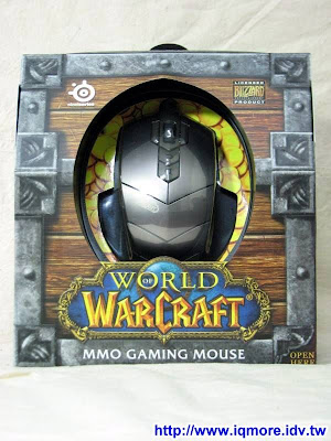 Steelseries World of Warcraft MMO Gaming Mouse (魔獸鼠)評測