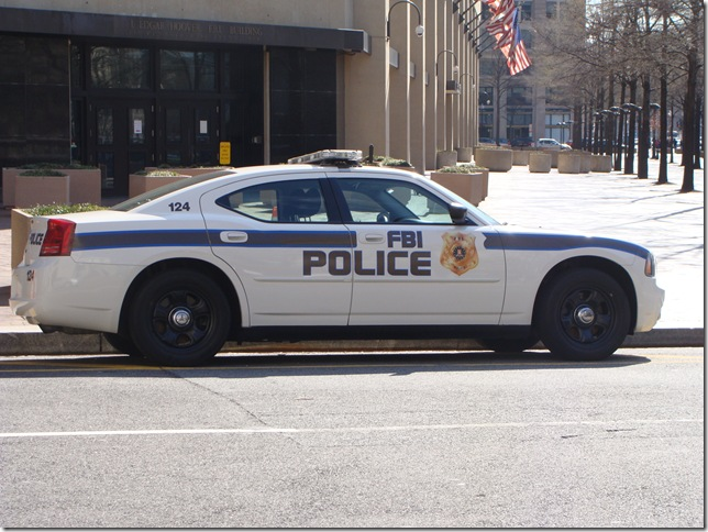 12FBI Police Car