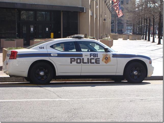 12FBI Police Car