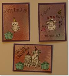 Birthday ATC's