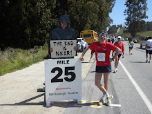 1,2 Meilen vor dem Ziel