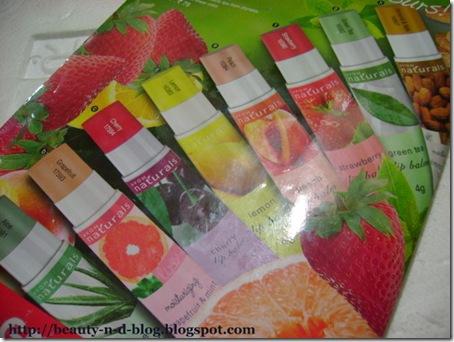 Avon Naturals Lip Balm Flavors