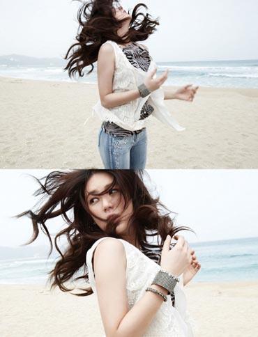 Yoon EunHye ในคอลเลคชั่นใหม่รับซัมเมอร์กับ Joinus