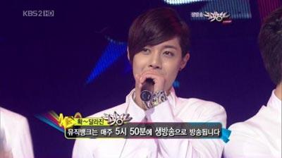 'Loves Ya' จาก SS501 ชนะในรายการ Music Bank