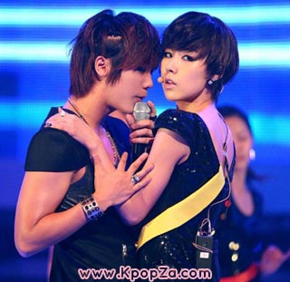 คลิป Kan MiYeon และ Mir (MBLAQ) ใน M! Countdown