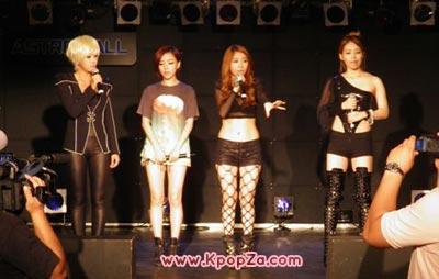 Brown Eyed Girls เดบิวต์อย่างเป็นทางการที่ประเทศญี่ปุ่น