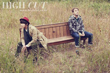 Yunho ถ่ายแบบให้นิตยสาร  High Cut