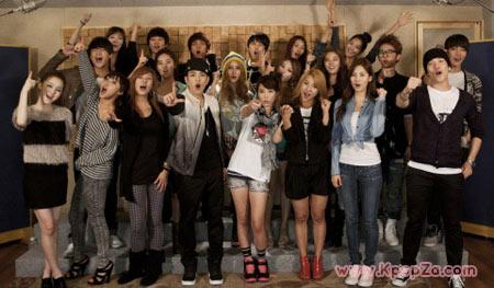เหล่าศินปินนักร้องเกาหลีปล่อยมิวสิควีดีโอ 'Let's Go' ออกมาแล้ว