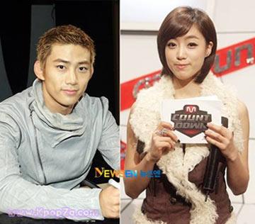 Taecyeon และ Eunjung จะร่วมแสดงในละครเรื่อง Dream High?