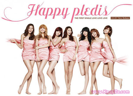 """Happy Pledis 1st Album"" อัลบั้มเพื่อการกุศลจาก After School"
