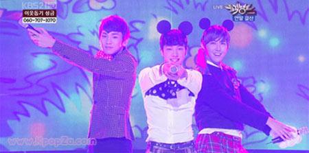 Kikwang, Key และ Kwanghee โคฟเวอร์เพลง Orange Carame ใน Music Bank