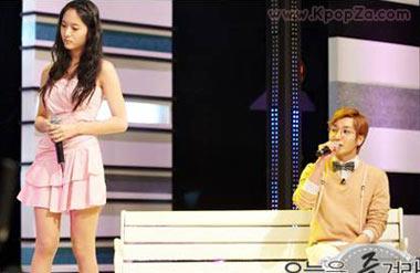 Leeteuk และ Krystal ปล่อยเพลง 'Grumbling' ออกมาแล้ว