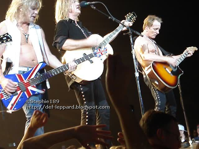 Sav, Joe, and Phil - Def Leppard - 2008