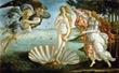 Botticelli, El nacimiento de Venus