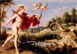 Cornelis de Vos - Apolo y Pitón