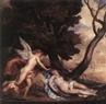 Anthony Van Dyck,  Cupido y Psyche
