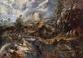 Rubens, Paisaje con Filemón y Baucis