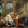Jean Baptiste Marie Pierre,  - Mercurio, Herse y Aglauros