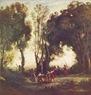 Camille Corot, la danza de las ninfas