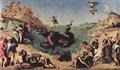 Piero di Cosimo - Perseo rescatando a Andrómeda