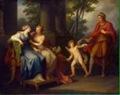 Angelica Kauffmann, Venus convence a Helena para escuchar a Paris