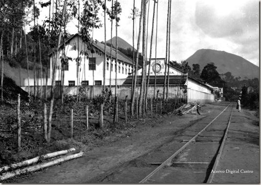 Ypu e trilhos do trem